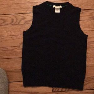 Boys 4/5 cashmere sweater vest